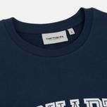 Женская толстовка Carhartt WIP W' Yale Blue/White фото- 1