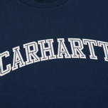 Женская толстовка Carhartt WIP W' Yale Blue/White фото- 2