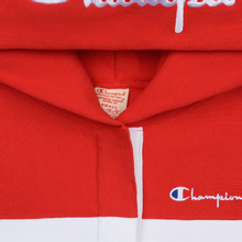 Женская толстовка Champion Reverse Weave Big Script Hooded Racing Red/White/Navy фото- 1