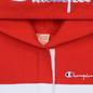 Женская толстовка Champion Reverse Weave Big Script Hooded Racing Red/White/Navy фото - 1