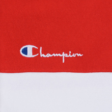 Женская толстовка Champion Reverse Weave Big Script Hooded Racing Red/White/Navy фото- 3