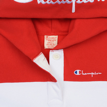 Женская толстовка Champion Reverse Weave Big Script Hooded Racing Red/White/Navy фото- 2