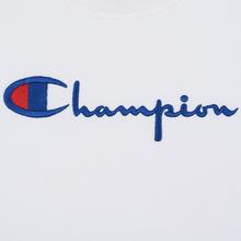 Женская толстовка Champion Reverse Weave Big Script Oversize Crew Neck White фото- 2