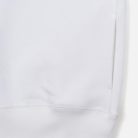 Женская толстовка Champion Reverse Weave Big Script Oversize Crew Neck White