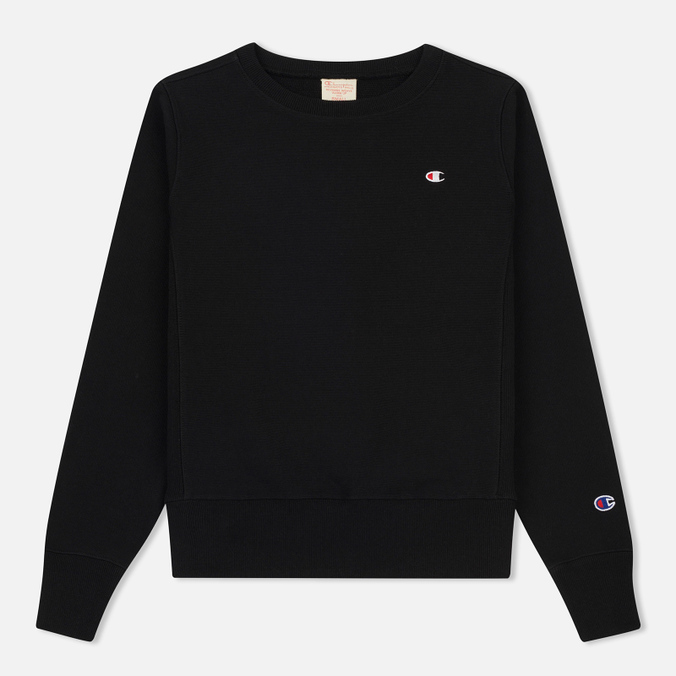 Женская толстовка Champion Reverse Weave Classic Crew Neck Black