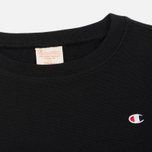 Женская толстовка Champion Reverse Weave Classic Crew Neck Black фото- 1