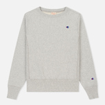 Женская толстовка Champion Reverse Weave Classic Crew Neck Heather Grey фото- 0