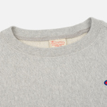 Женская толстовка Champion Reverse Weave Classic Crew Neck Heather Grey фото- 1