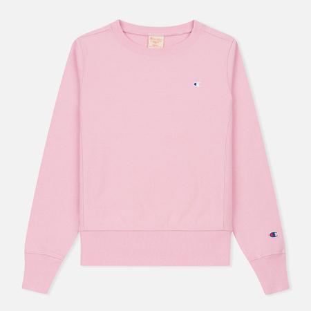Женская толстовка Champion Reverse Weave Classic Crew Neck Light Pink