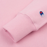 Женская толстовка Champion Reverse Weave Classic Crew Neck Light Pink фото- 3