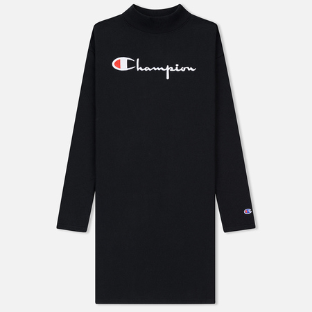 Женская толстовка Champion Reverse Weave High Neck Black