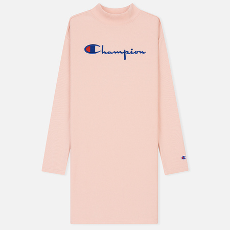 Женская толстовка Champion Reverse Weave High Neck Rose Tane