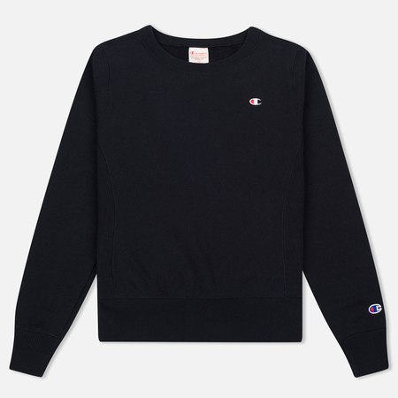 Женская толстовка Champion Reverse Weave Crew Neck Black