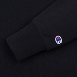 Champion Reverse Weave Hooded Full Zip Black photo- 2