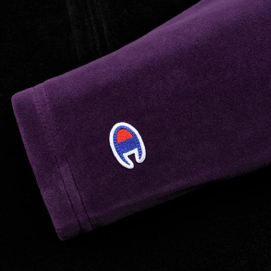 Женская толстовка Champion Reverse Weave Hooded Oversize Half-Zip Black/Multicolor