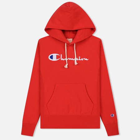 Женская толстовка Champion Reverse Weave Hooded Red