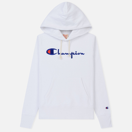 Женская толстовка Champion Reverse Weave Hooded White