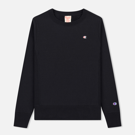 Женская толстовка Champion Reverse Weave Icon Crew Neck Black