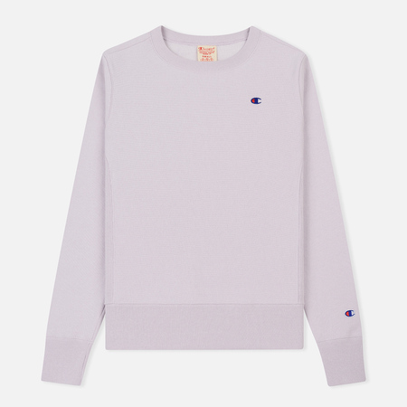 Женская толстовка Champion Reverse Weave Icon Crew Neck Lavender