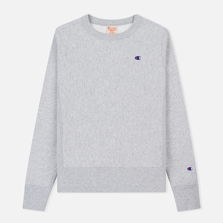 Женская толстовка Champion Reverse Weave Icon Crew Neck Light Grey