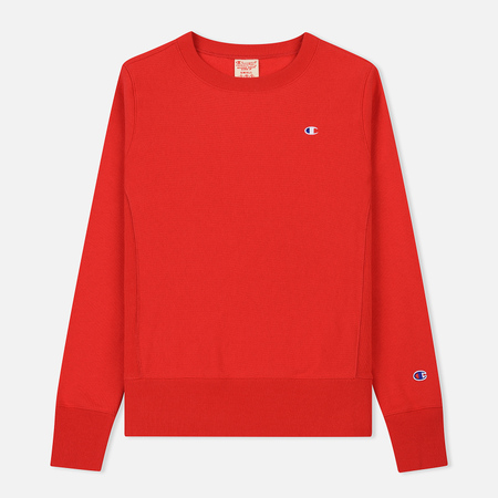 Женская толстовка Champion Reverse Weave Icon Crew Neck Red