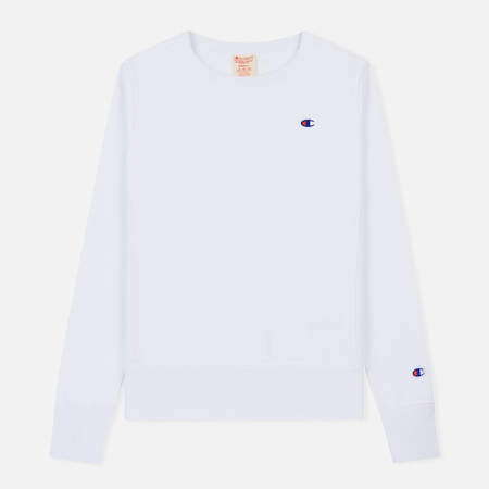 Женская толстовка Champion Reverse Weave Icon Crew Neck White