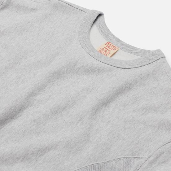 Женская толстовка Champion Reverse Weave Lightweight Reverse Weave Oversized Light Grey
