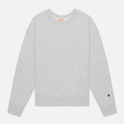 Женская толстовка Champion Reverse Weave Lightweight Reverse Weave Oversized Light Grey