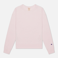 Женская толстовка Champion Reverse Weave Lightweight Reverse Weave Oversized Pink