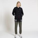 Женская толстовка Champion Reverse Weave Maxi Full Zip Longline Bomber Black фото- 6