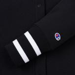 Женская толстовка Champion Reverse Weave Maxi Full Zip Longline Bomber Black фото- 4