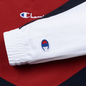 Женская толстовка Champion Reverse Weave Peached Feel Crinckle Water Repellent Crew Neck Dark Red/Navy/White фото - 3