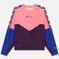 Женская толстовка Champion Reverse Weave Peached Feel Crinckle Water Repellent Crew Neck Pink/Violet/Blue фото - 0