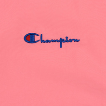Женская толстовка Champion Reverse Weave Peached Feel Crinckle Water Repellent Crew Neck Pink/Violet/Blue фото- 2