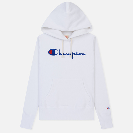 Женская толстовка Champion Reverse Weave Script Logo Hoodie White