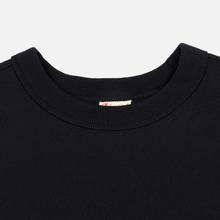 Женская толстовка Champion Reverse Weave Sleeve Logo Crew Neck Black фото- 1
