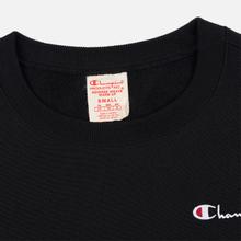 Женская толстовка Champion Reverse Weave Small Script Crew Neck Black фото- 1