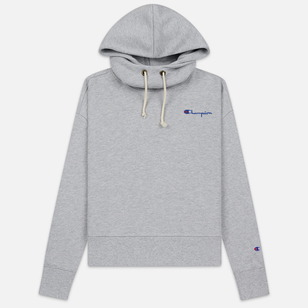 Женская толстовка Champion Reverse Weave Small Script Hooded Light Grey