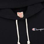 Женская толстовка Champion Reverse Weave Small Script Logo Hoodie Black фото- 1