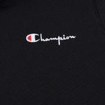 Женская толстовка Champion Reverse Weave Small Script Logo Hoodie Black фото- 2