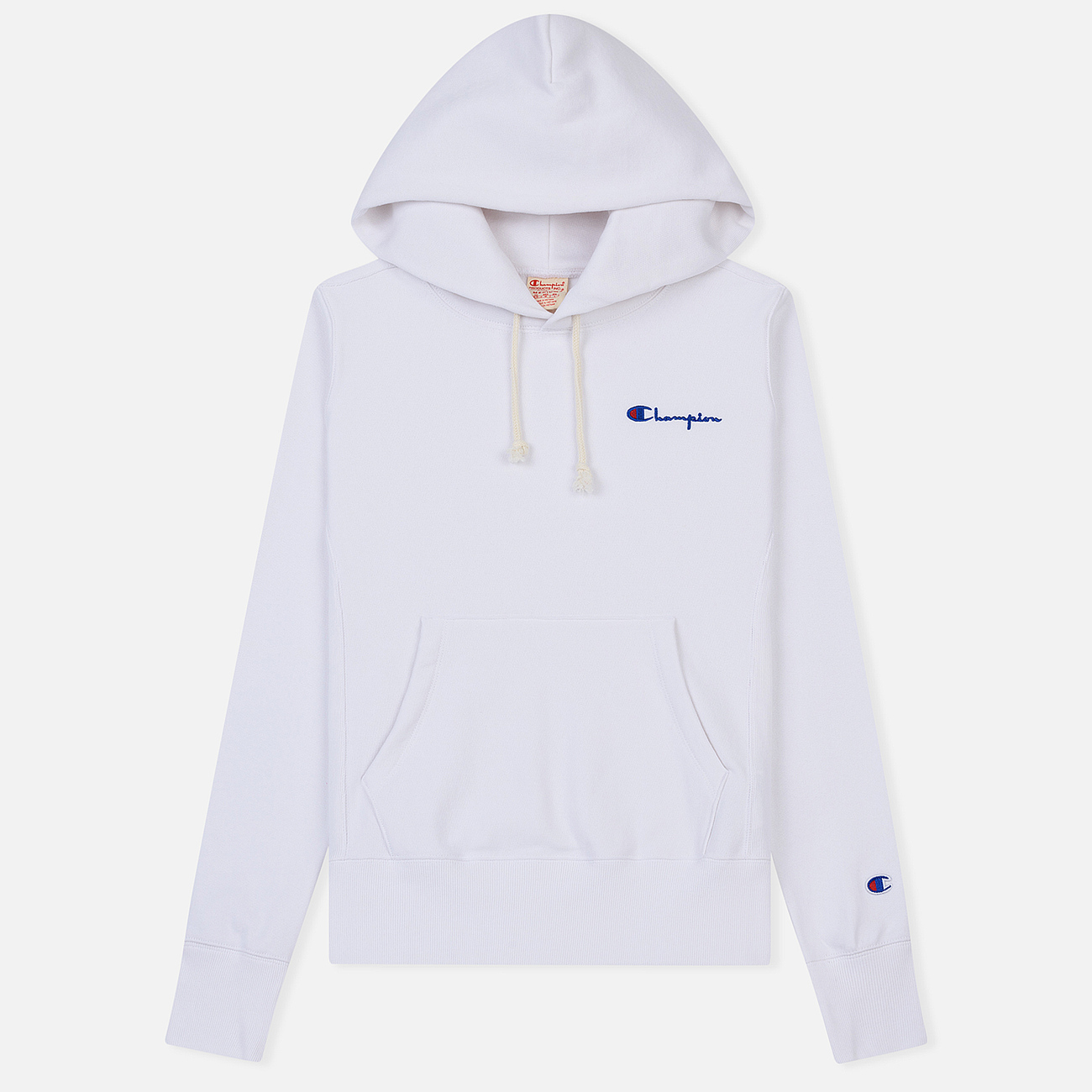 Женская толстовка Champion Reverse Weave Small Script Logo Hoodie White