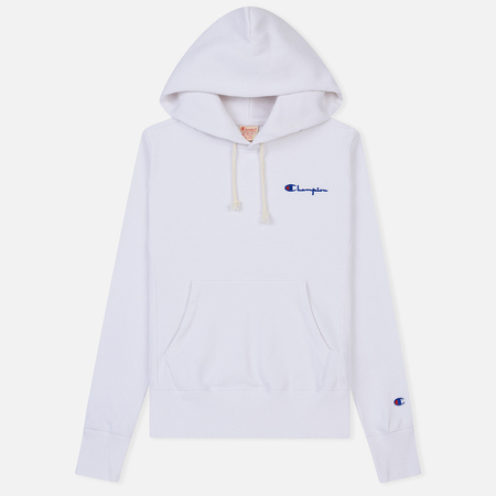 61a09f49 Женская толстовка Champion Reverse Weave Small Script Logo Hoodie White