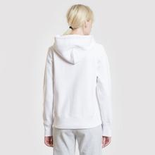 Женская толстовка Champion Reverse Weave Small Script Logo Hoodie White фото- 3
