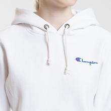 Женская толстовка Champion Reverse Weave Small Script Logo Hoodie White фото- 2