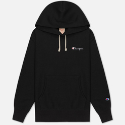 Женская толстовка Champion Reverse Weave Small Script & Logo Sleeve Hoodie Black