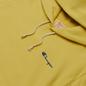 Женская толстовка Champion Reverse Weave Small Script & Logo Sleeve Hoodie Yellow фото - 1
