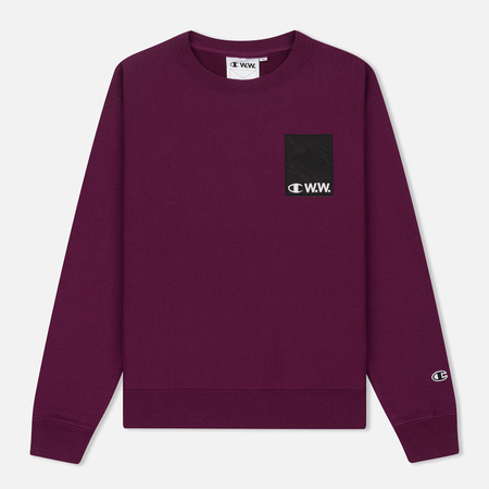 Женская толстовка Champion Reverse Weave x Wood Wood Nova Dark Purple