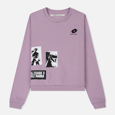 Женская толстовка Damir Doma x Lotto Werno WL Washed Lavander