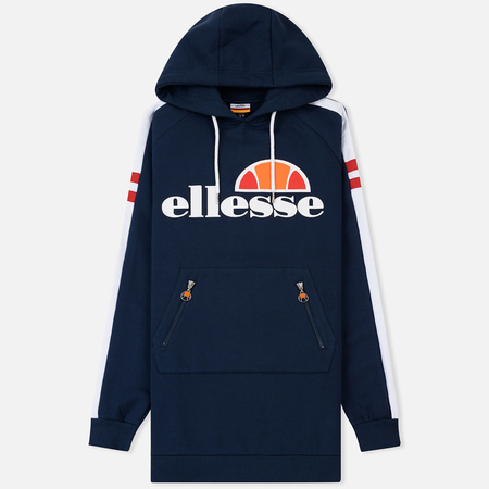 Женская толстовка Ellesse Claviere Long Hoody Dress Blues