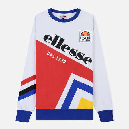 Женская толстовка Ellesse Dolomito Crew Optic White